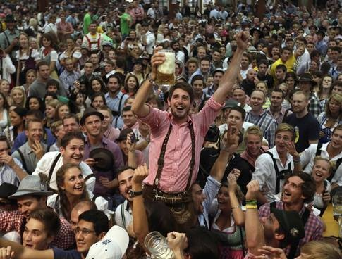 Germany kicks off 16-day Oktoberfest where more than 6 millions visitors from around the globe are expected to attend the annual celebration in Munich.