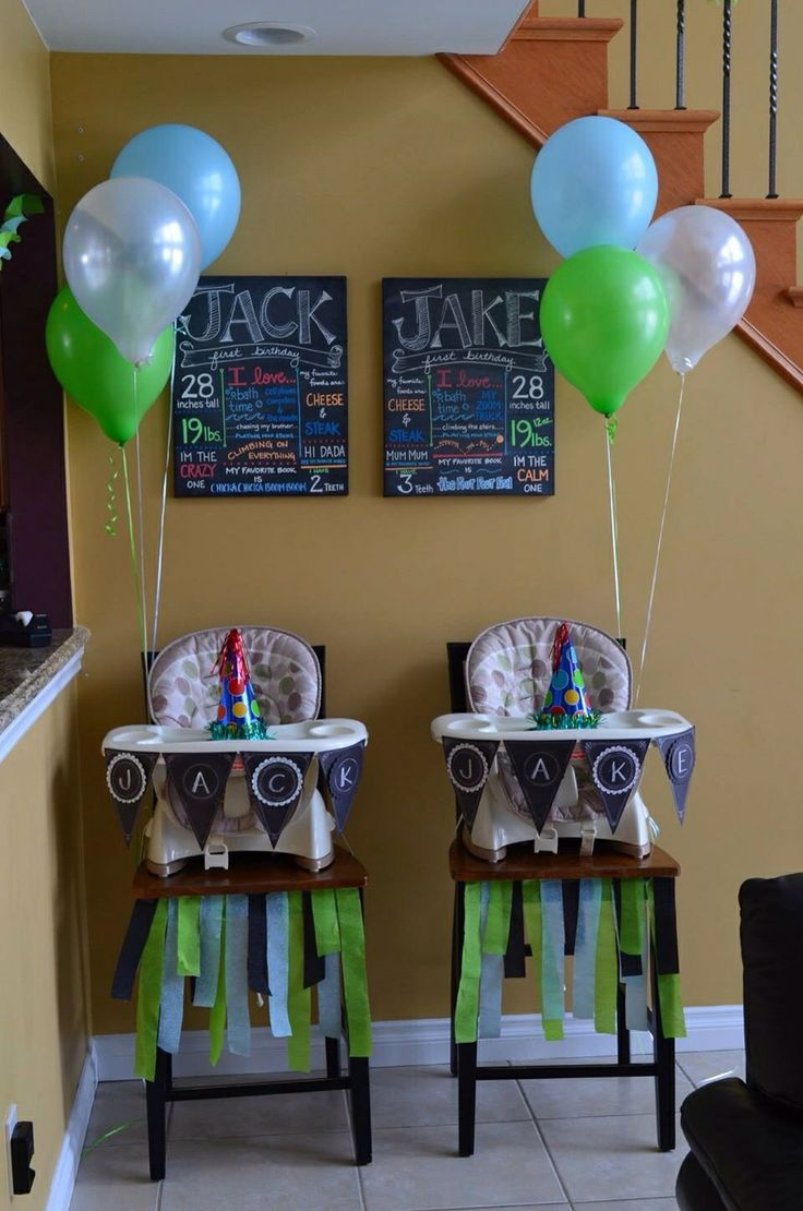 33 best Twins Theme Party images on Pinterest Twins Baby showers