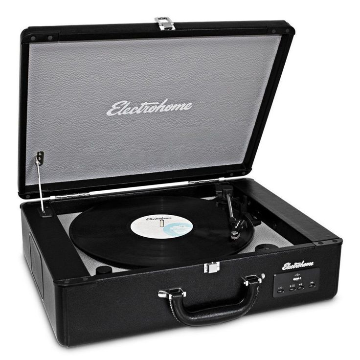 Electrohome Archer Vinyl Record Player Classic Turntable Stereo System Review