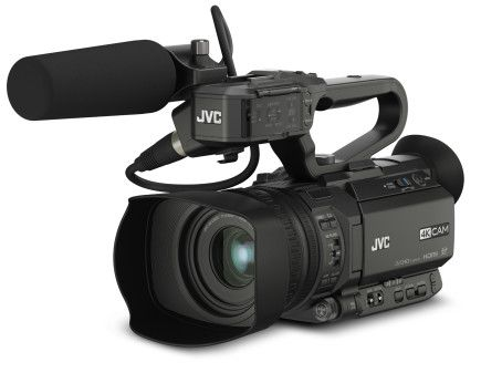 JVC GY-HM200SP: 4K Sports Production Camera Live Streaming Camcorder