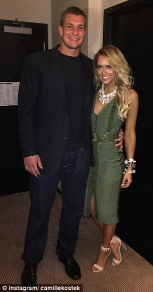 A source told the New York Post that New England Patriots star Rob Gronkowski's girlfriend...
