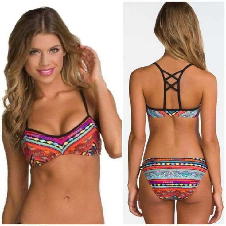 Swim suit that would stay on (it's a real problem, people). For sand volleyball and the massive wave riding days.❤️