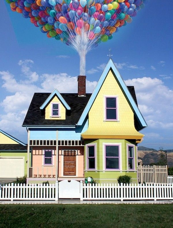 Disney Pixar 'Up' Replica House by Bangerter Homes