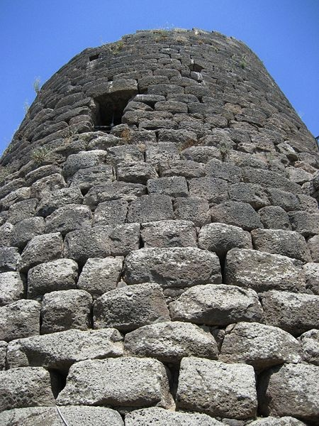 The nuraghe [nuˈraɡe] (plural Italian nuraghi, Sardinian nuraghes) is the main type of ancient megalithic edifice found in Sardinia, developed during the Nuragic Age between 1900-730 BC