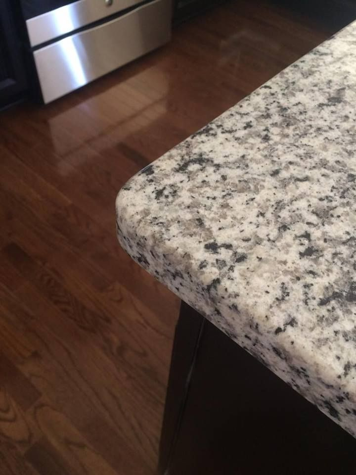 Image Result For Luna Pearl Granite With Dark Cabinets