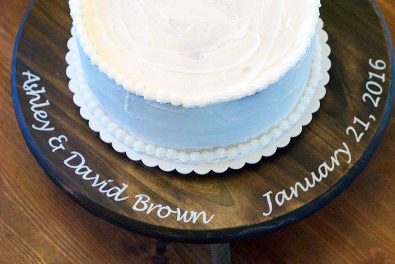Rustic Wedding Cake Stand Cake Stand wedding cake by Woodlandedges