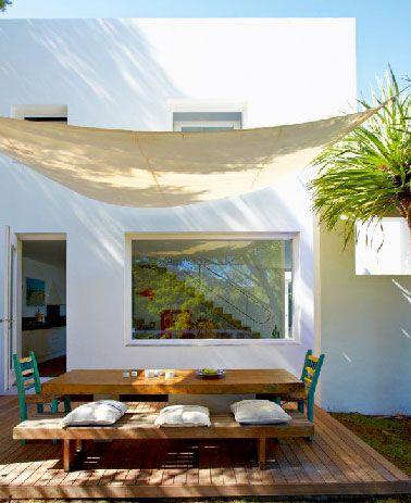 Déco terrasse en bois dune maison design