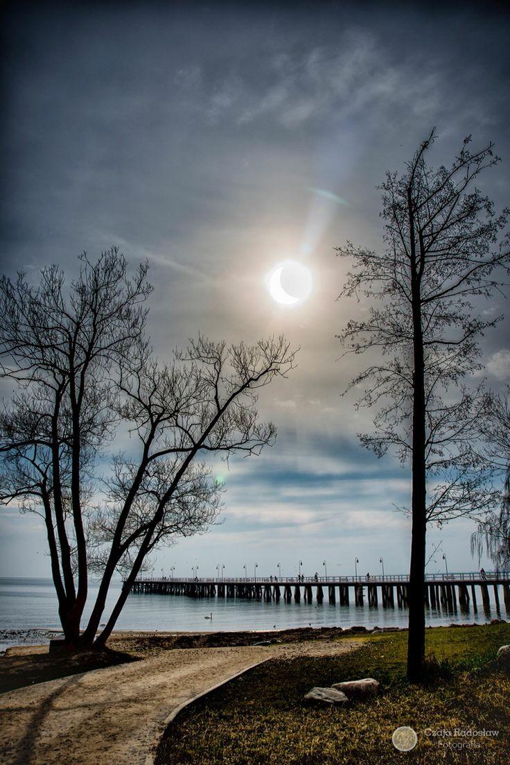 Gdynia, Poland. 2015 SunEclipse.