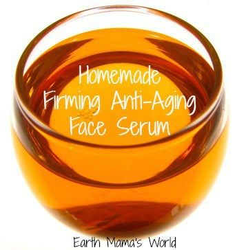 Homemade Organic Firming & Anti-Aging Face Serum | Earth Mama's World