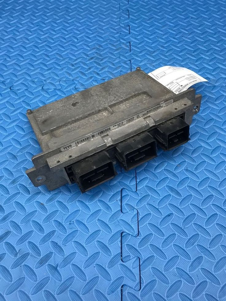Genuine Ford Part Engine Computer Electronic Control Unit Module  AG1A-12A650-EF #Ford