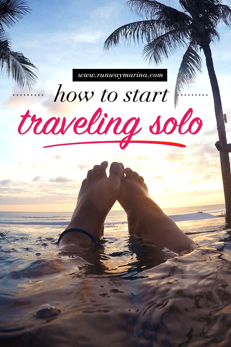 Are you nervous traveling solo? It can be hard in the beginning but here's some useful tips and inspiration to encourage you to get that dream destination!