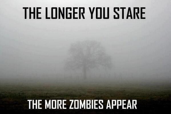 Fog Tree Zombies Zombie Tat Pinterest Funny The Walking Dead