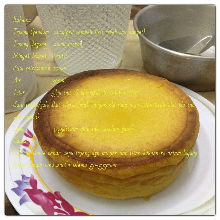 Pumpkin cake recipe