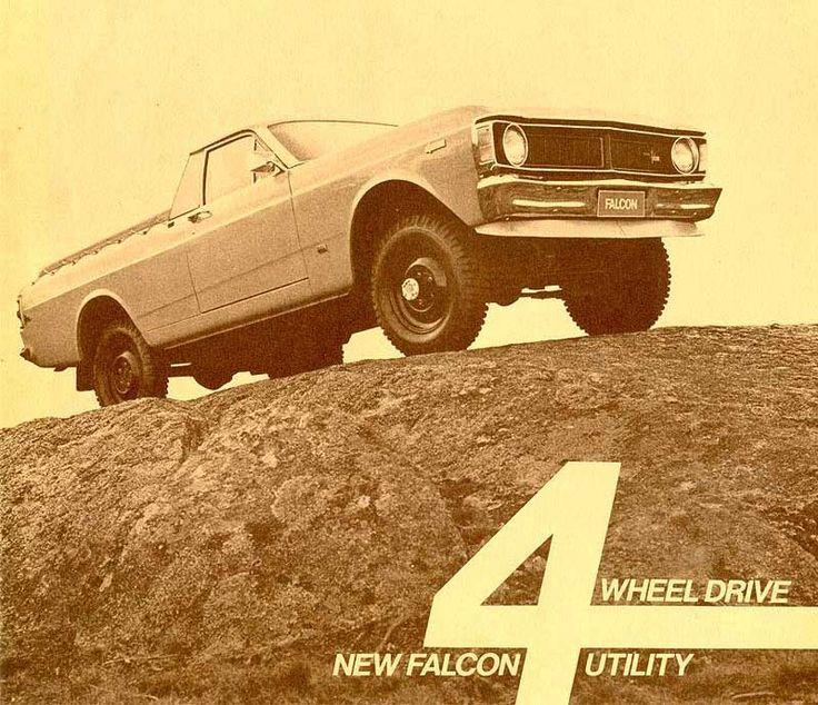 1972 Ford XY Falcon 4x4 Ute Brochure (Australia)