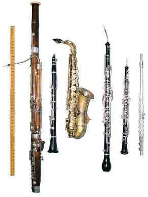 Instrumentos de viento-madera