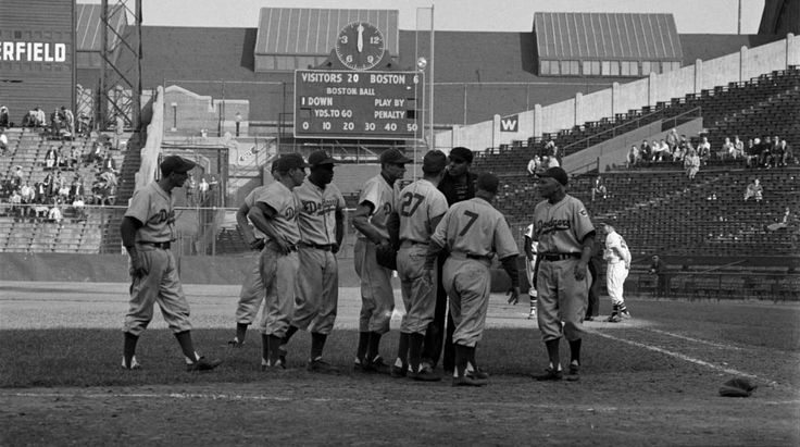 Braves Field, Boston (1951) classic ballparks and