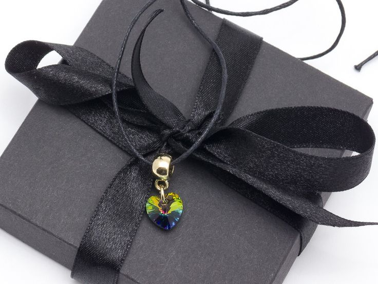 Charm Necklaces – Pendant green – a unique product by Blackif on DaWanda