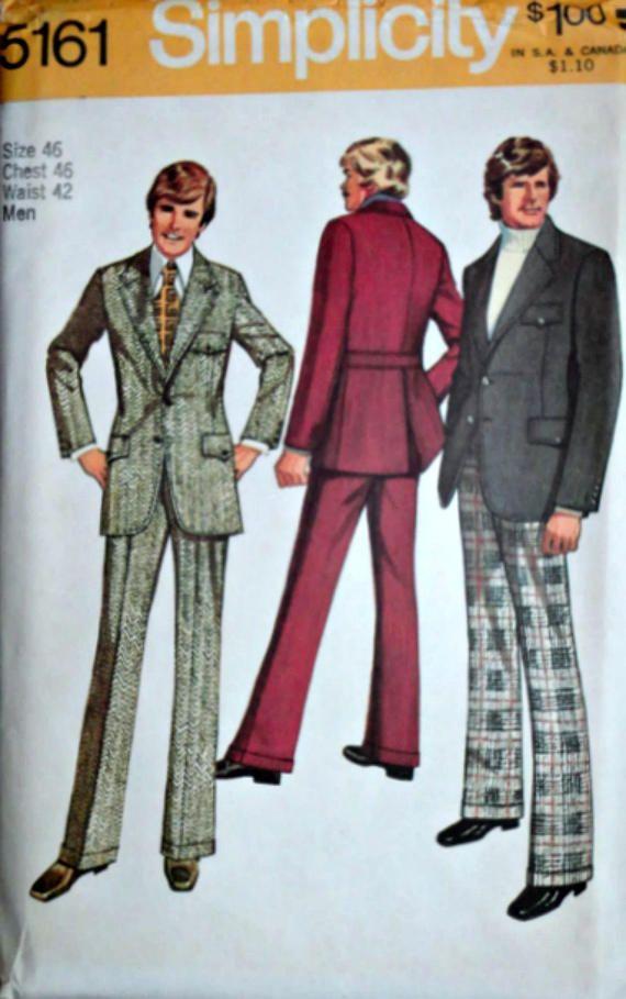 30 besten Vintage Men\'s Sewing Patterns Bilder auf Pinterest ...