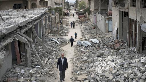 Kampf um irakische Stadt: Mehr als 100 Tote bei Explosion in Mossul | tagesschau.de