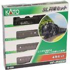 KATO Model Train 10-830 Steam Locomotive D51 with Passenger Cars 4-Car Set Japan - http://hobbies-toys.goshoppins.com/model-railroads-trains/kato-model-train-10-830-steam-locomotive-d51-with-passenger-cars-4-car-set-japan/