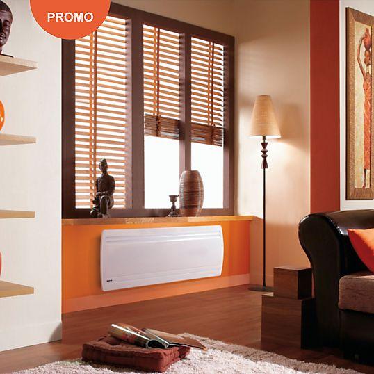 Radiateur à chaleur douce Actifonte bas Smart ECOControl NOIROT