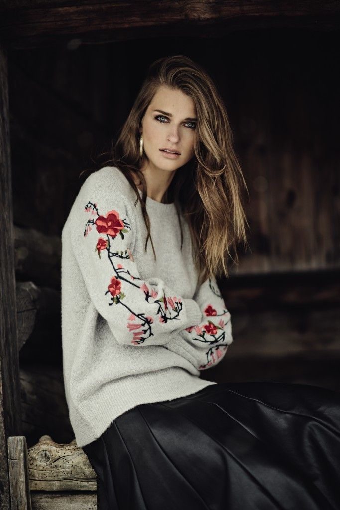 Get wrapped up with new season knitwear at Monsoon.