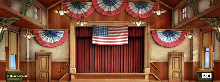 Music Man Theatrical Backdrop Rentals By Kenmark Scenic Backdrops Music Man The Music Man
