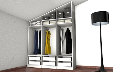 begehbarer kleiderschrank unter dachschr ge home pinterest. Black Bedroom Furniture Sets. Home Design Ideas