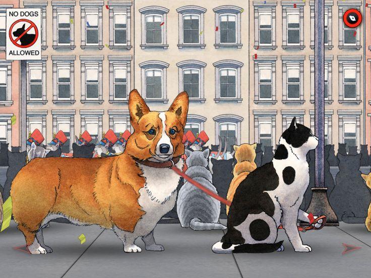 Appli Spot de David Wiesner, illustrateur jeunesse dont nous avons des ouvrages