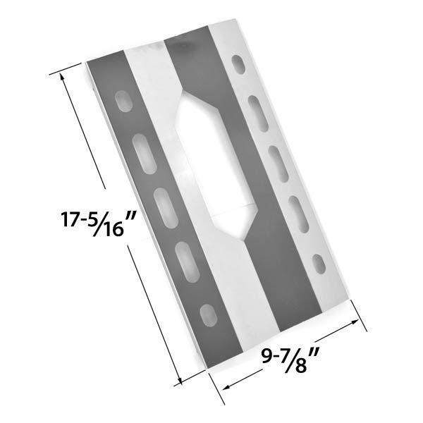 REPLACEMENT STAINLESS STEEL HEAT SHIELD FOR STERLING FORGE 720-0016, HARRIS TEETER 21001 AND MEMBERS MARK 720-0586A GAS GRILL MODELS Fits Compatible Sterling Forge Models : 720-0016, Courtyard 2404 Read More @http://www.grillpartszone.com/shopexd.asp?id=33783&sid=25390