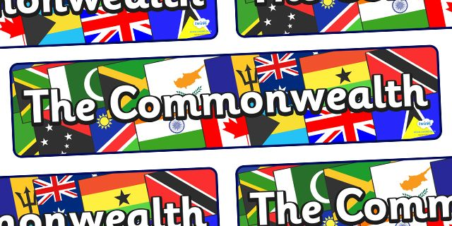 The Commonwealth Games- The Commonwealth Display Banner