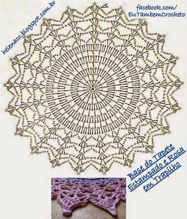 563 best Doilies - Crochet images on Pinterest | Crochet doilies ...