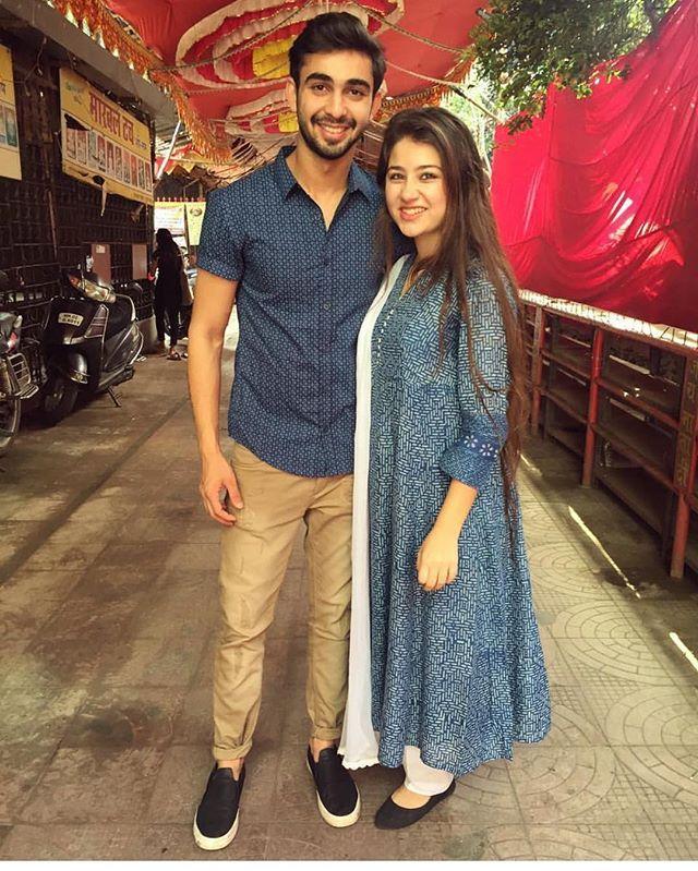 Abhishek & Aditi @i.m.abhishekk @aditi_bhatia4 #yhm #yehhaimohabbatein