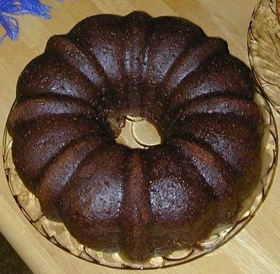 Delicious Recipes: Christmas Chocolate Rum Cake Recipe