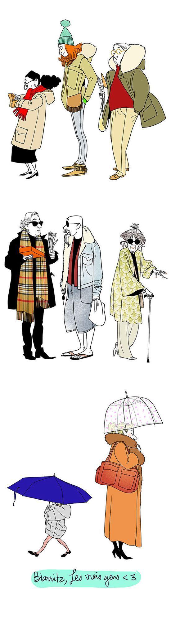 People illustrated