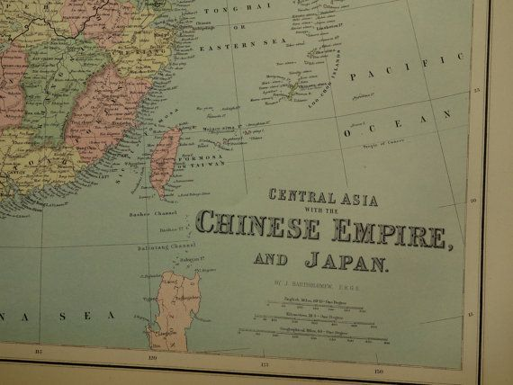 Best Antique Maps Of China Images On Pinterest Antique Maps - Japan map in chinese