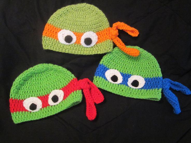 Ninja Turtle Boy's Girl's Kid's Toddler's Infant by MindyBurn, $18.00