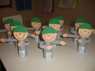 trabalhinhos para educação infantil dia do soldado - Pesquisa Google