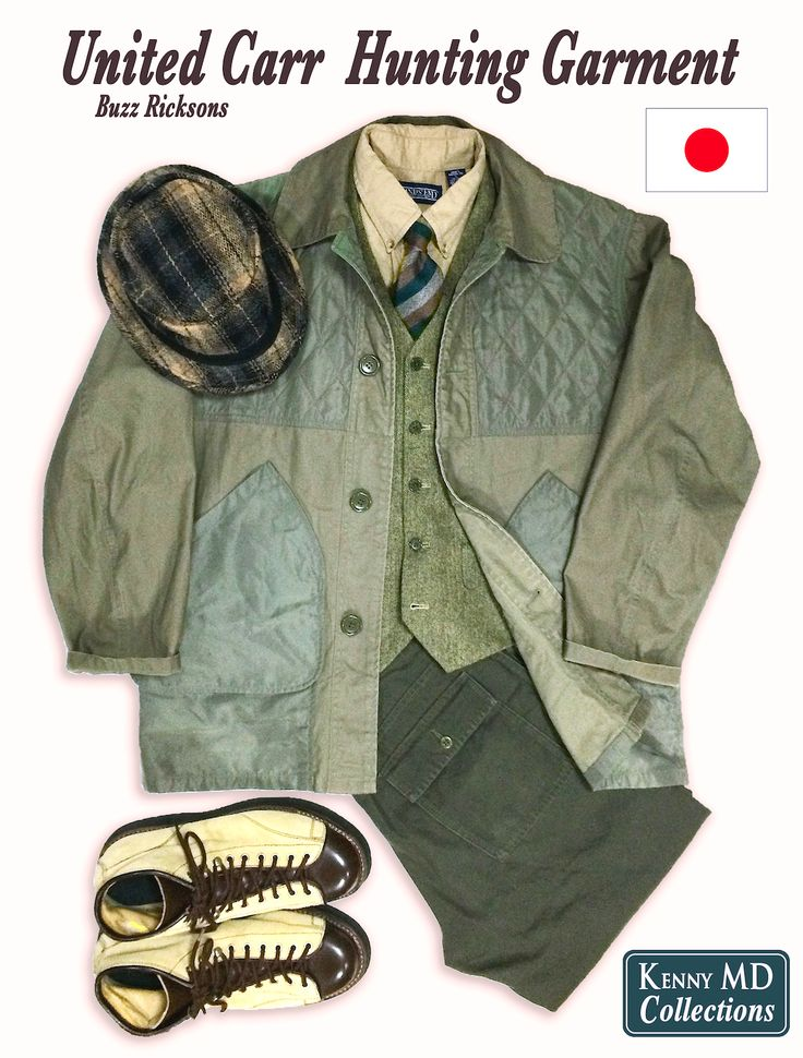United Carr Buzz Rickson's Hunting Garment