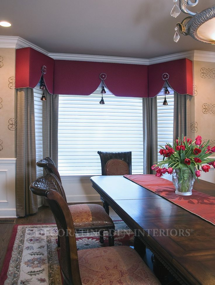 Window Treatments designs by Decorating Den Interiors. Want this look? Call The Landry Team to set up your FREE consultation 817-472-0067. Visit our website TheLandryTeam.DecoratingDen.com