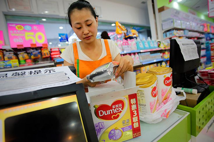 China Is Buying Up Australia's Supply of Baby Formula http://tak.pt/i/8E0jakkF via @TakePart Worries about the safety of Chinese brands are causing people to look for products made down under.
