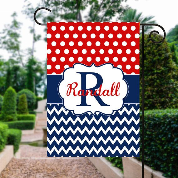 Memorial Day Flag | Red White and Blue Flag | th of July Flag | Patriotic Flag | Personalized Flag | Garden Flags | Patriotic Decor  #GardenSign #PatrioticFlag #4thOfJulyFlag #GardenFlags #RedWhiteAndBlue #GardenGift #FourthOfJuly #PersonalizedFlag #YardSign #GardenFlag