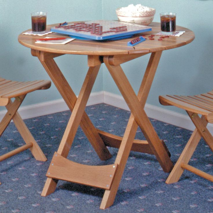 10 images about folding table plans on pinterest for Folding table plans free