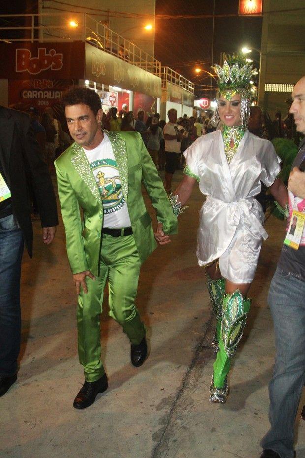 Zezé Di Camargo e Gracielle Lacerda (Foto: Anderson Borde/ Ag. News)