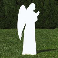 silhouette-outdoor-nativity-set-white-angel