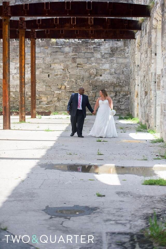 Wedding photography at The Dockyards in Bermuda! Thanks @twoandquarter Photography