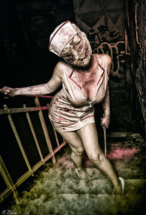 Silent Hill Nurse Cosplay                                                                                                                                                     More