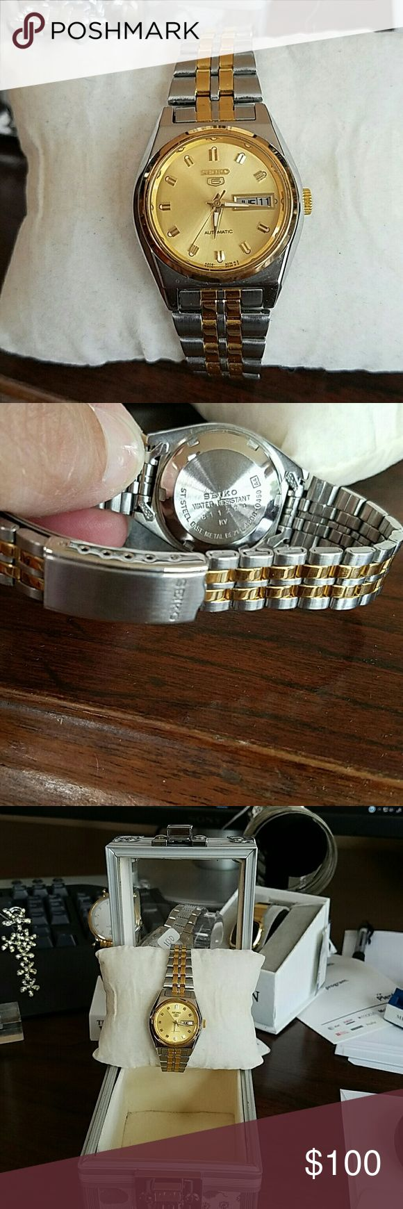 SPECIAL SEIKO $100.00 automatic ..filled gold watch Jewelry