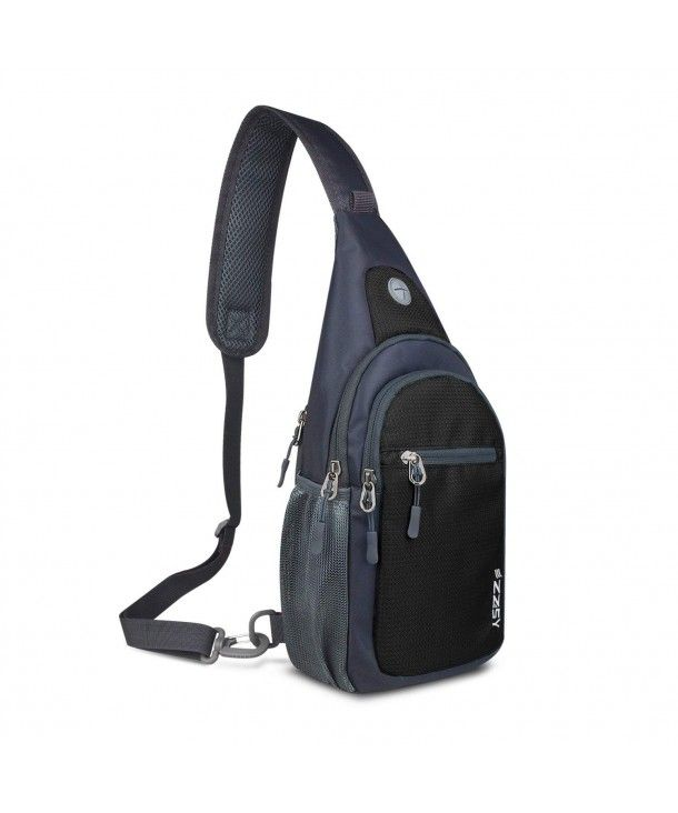 Sling Backpack- Shoulder Chest Crossbody Bag Small Daypack Outdoor ... a7b14c874ade9