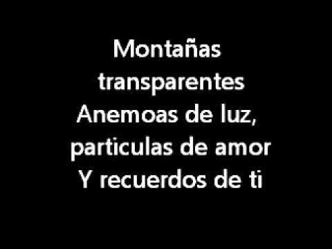 Brillas - León Larregui (lyrics) - YouTube